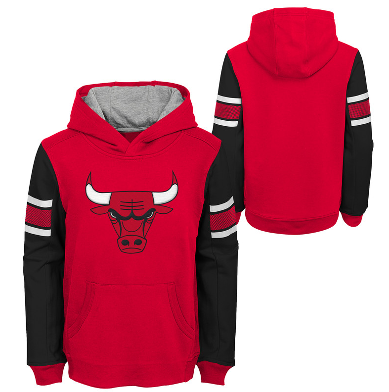 Child Chicago Bulls Block Action Pullover Hoodie in 2019
