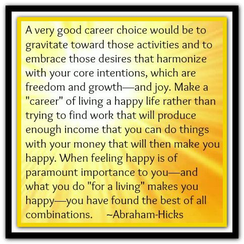 A Very Good Career Choice Would Be To Gravitate Toward Those