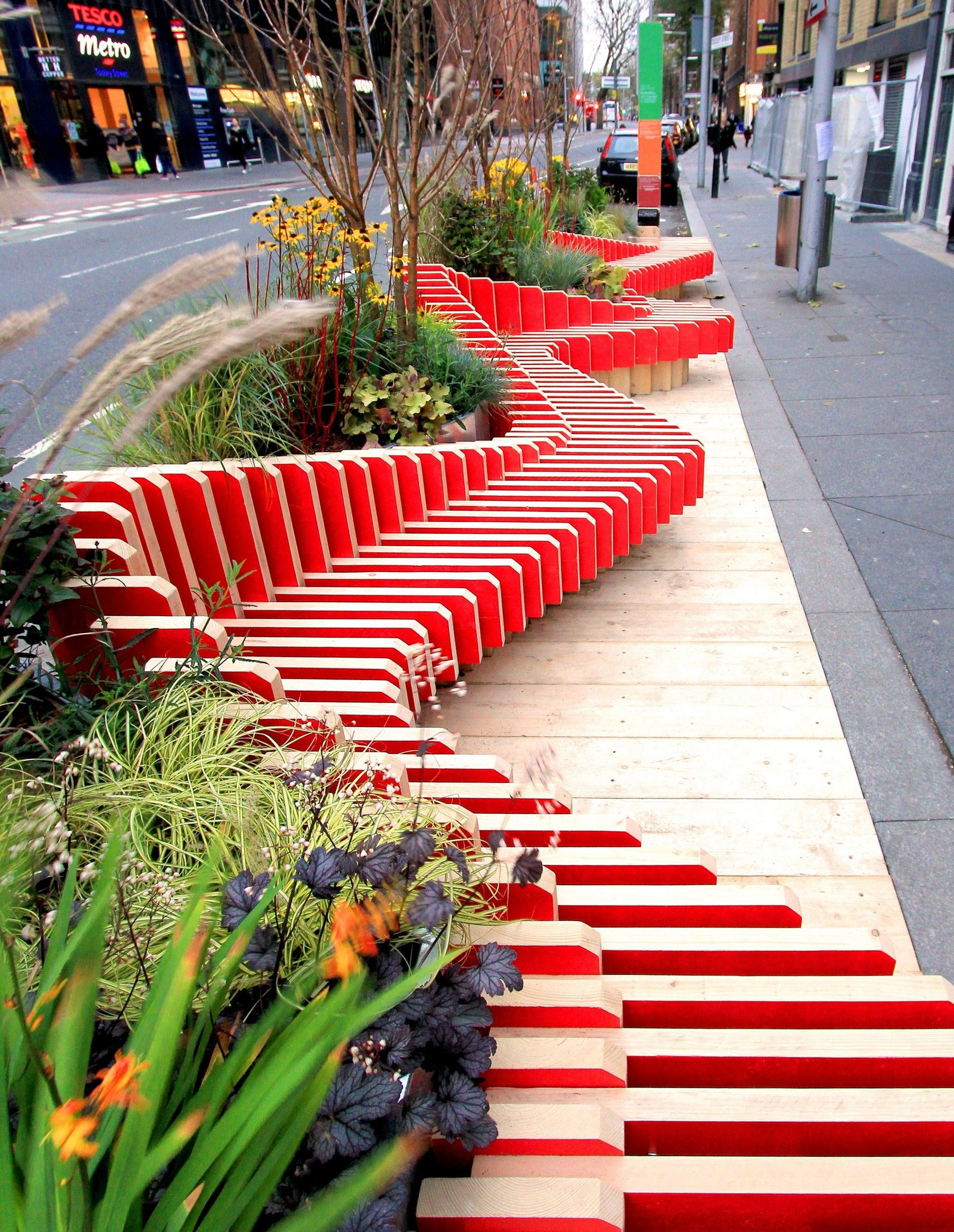 WMB studio - Project - Parked Bench - Image-5 | дизайн среды ...