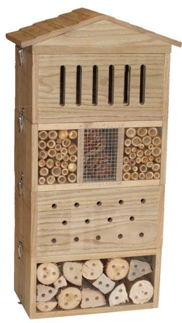 Un Abri Pour Insectes 100 Personnalisable Et 100 Modulable Une Veritable Innovation Pour Le Jardin Et Les Ins Hotel A Insectes Insectes Idees Pour La Maison