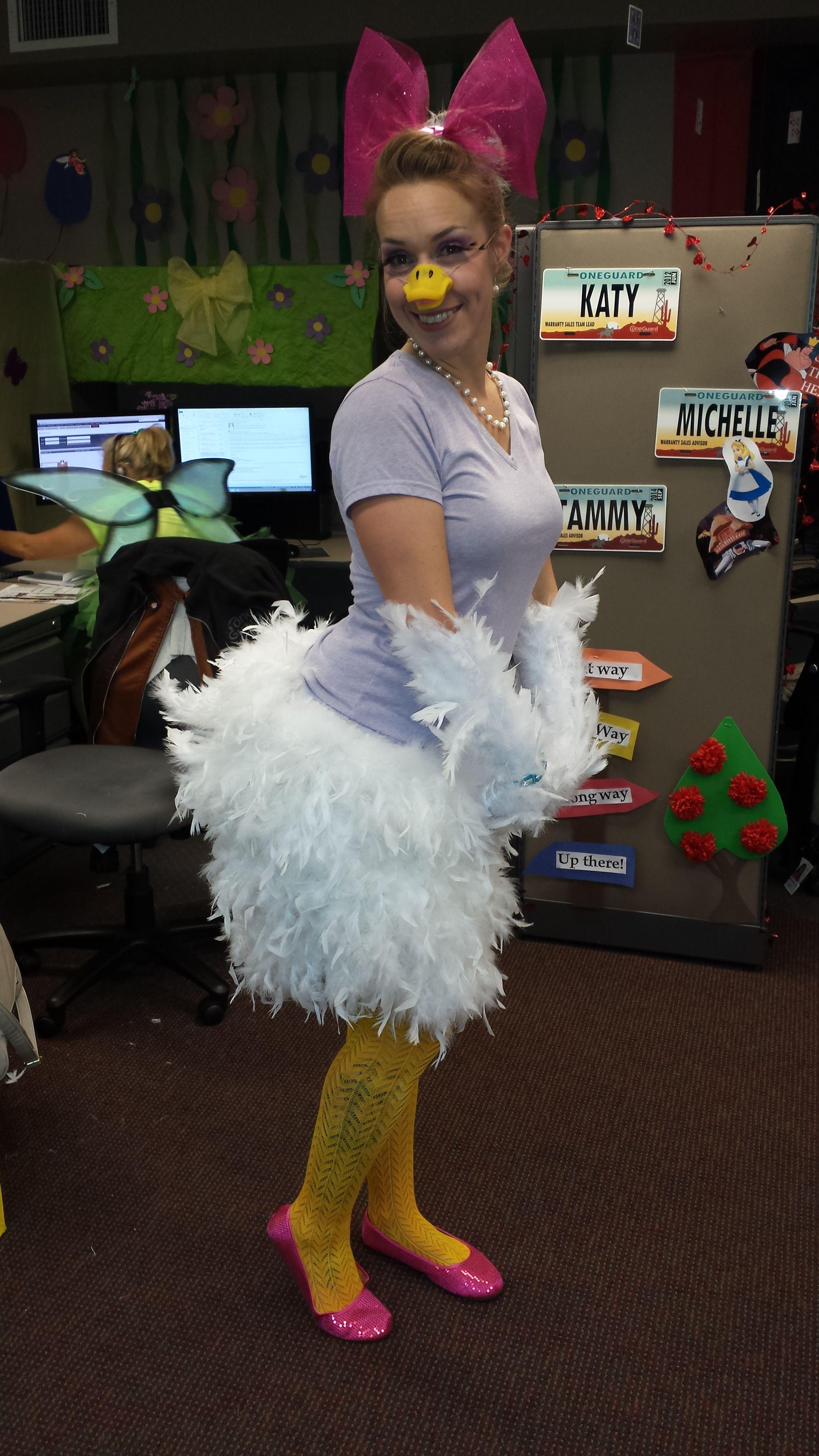 Daisy Duck Costume Office Decor Pinterest Halloween