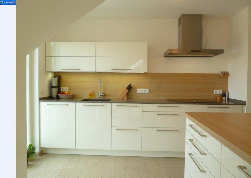 Meine Küche im neuen Dachgeschoss - Fertiggestellte Küchen - küchen in holzoptik