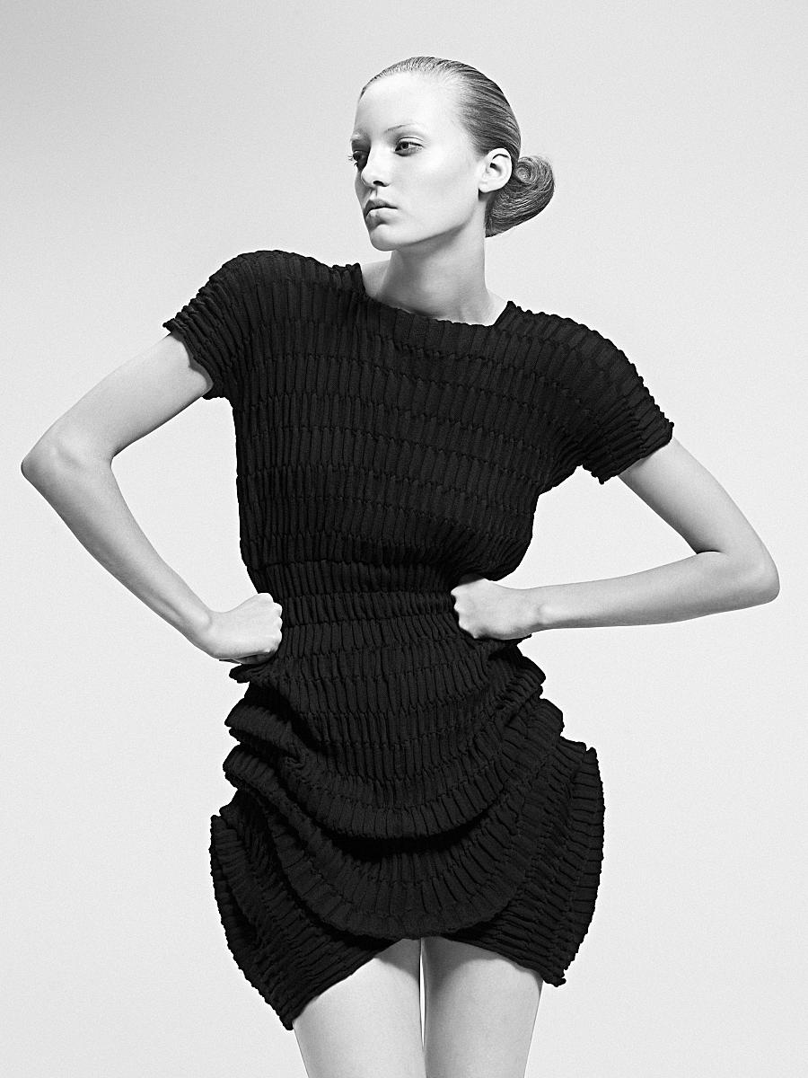 Sandra Backlund moda com arte