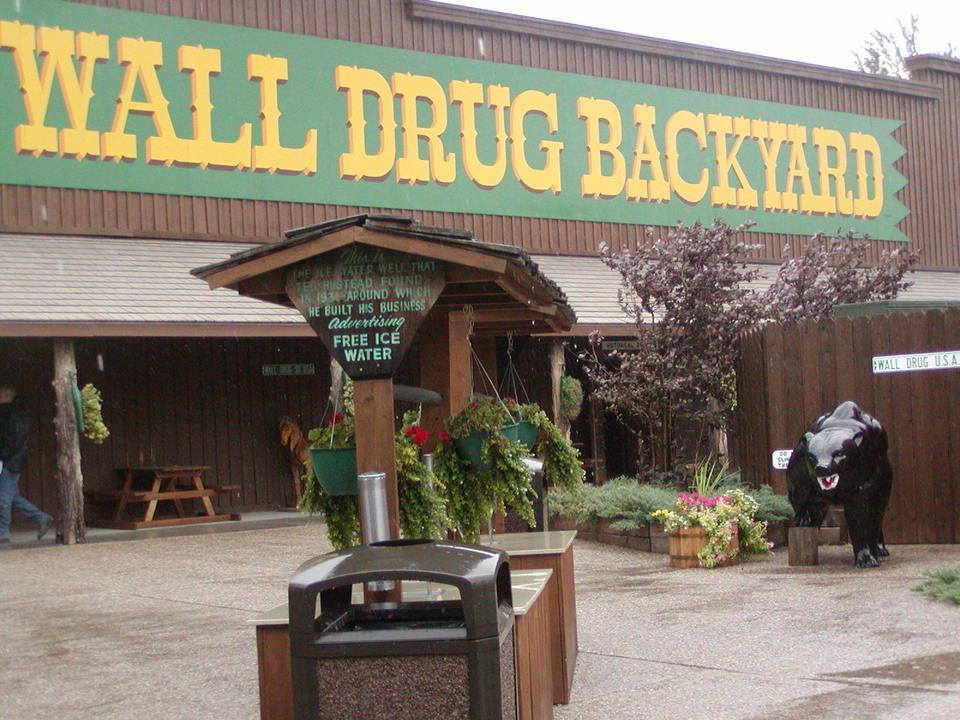 Wall Drug, SD, the biggest drug store I've ever been to