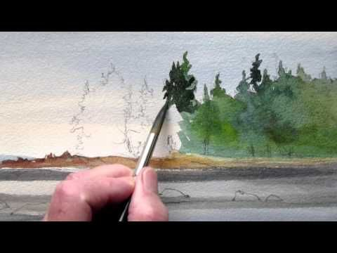 Grant Fuller Professional Watercolour Painter Instructor And