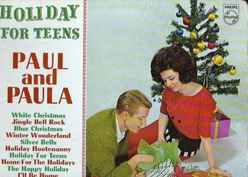 Rare 1963 Lp Paul Amp Paula Holiday For Teens On Phillips