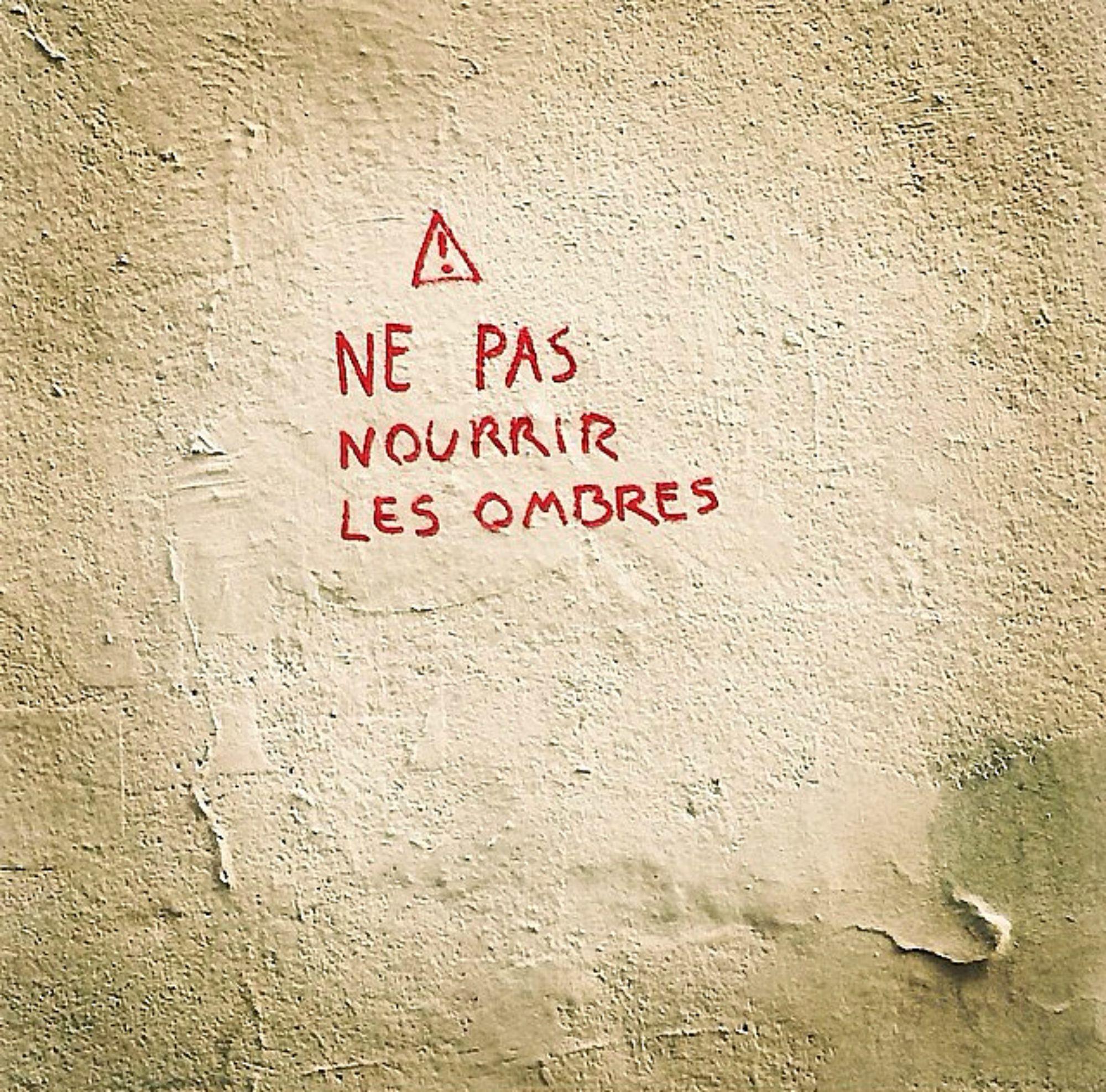 """""""Do not feed the shadows"""" via http://instagram.com/amyfeezor"""