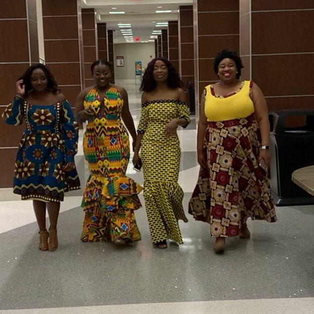 Ankara mind dress/African party dress/Ankara Clothing for women/Aftican Fashion/Ankara Shop #africandressstyles