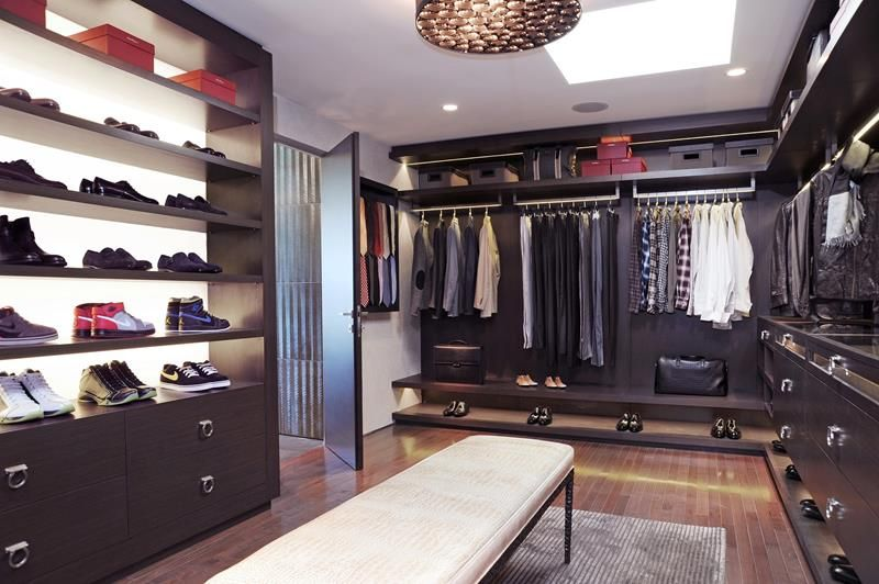 High Quality 24 Jaw Dropping Walk In Closet Designs
