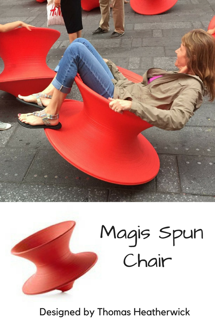Magis Spun Chair Indoor Outdoor Use Designed by Thomas Heatherwick Sold in US by Herman Miller dealers. I want one!! & Magis Spun Chair Indoor Outdoor Use Designed by Thomas Heatherwick ...