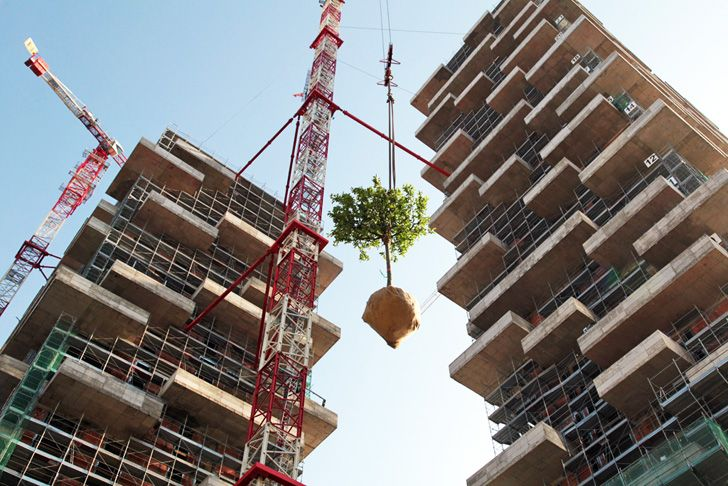 Nanjing Green Towers by Stefano Boeri Architetti will comprise China's first vertical forest with 1,100 trees.