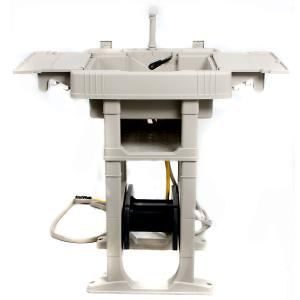 Reel Smart Outdoor Sink Station With Automatic Hose Reel