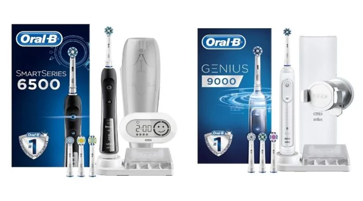 Oral B 6500 Vs 9000 Cyber Monday 2019 Electric Toothbrush Oral B Brushing Teeth