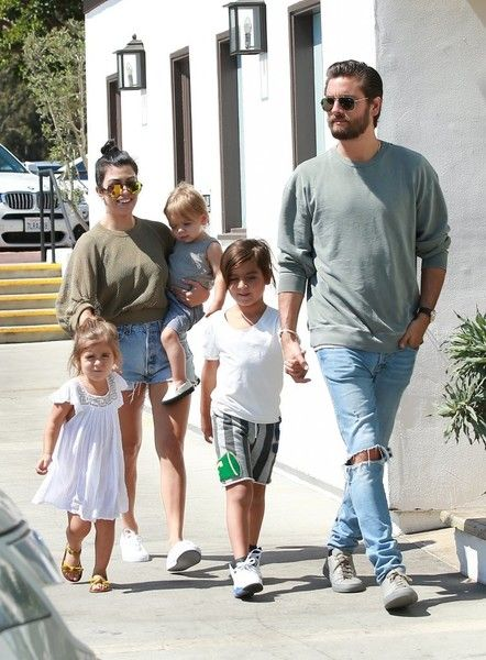 Penelope Disick Photos Photos: Kourtney Kardashian and Scott ...