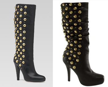 ad5ca8eaa Still have never been able to find either... Gucci Babouska Boot Size 6.  $1895 Bakers / Studded Studs Boot Size 6. $250.