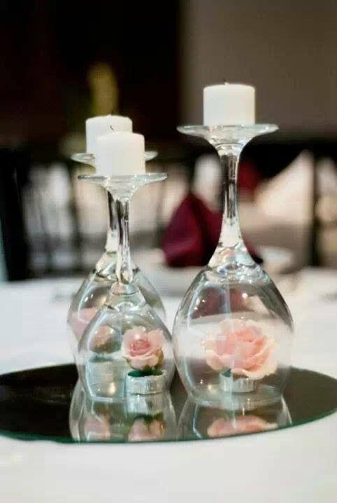 C mo hacer centros de mesa para boda m gicos y sencillos - Centros de mesa sencillos ...