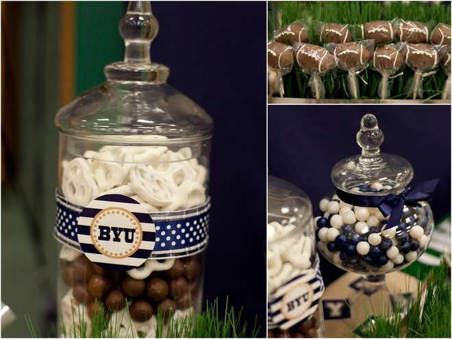 Surprise 60th Birthday Football Tailgating Party | CatchMyParty.com