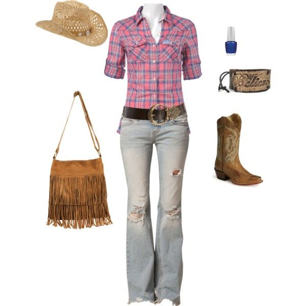 Casual country outfits, Cowgirl outfits