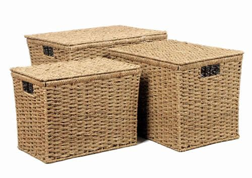 17 Best images about Seagrass Storage Baskets on Pinterest | Home, Hallways  and Storage boxes with lids