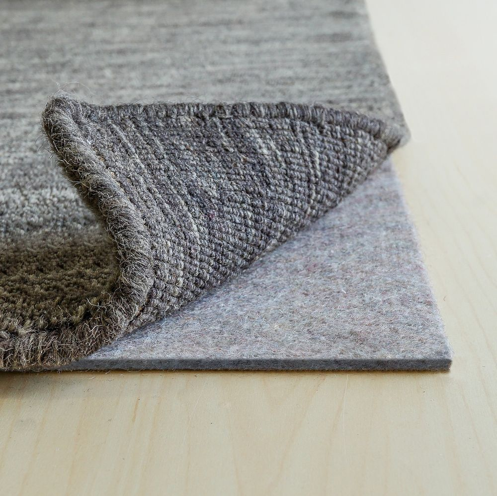Rug Pad Central 100 Recycled Felt Rug Pads Are An Excellent Addition To Any Area Rug And Floor Add Extra Comfort Protection And Cush Rug Pad Rugs Pad Design