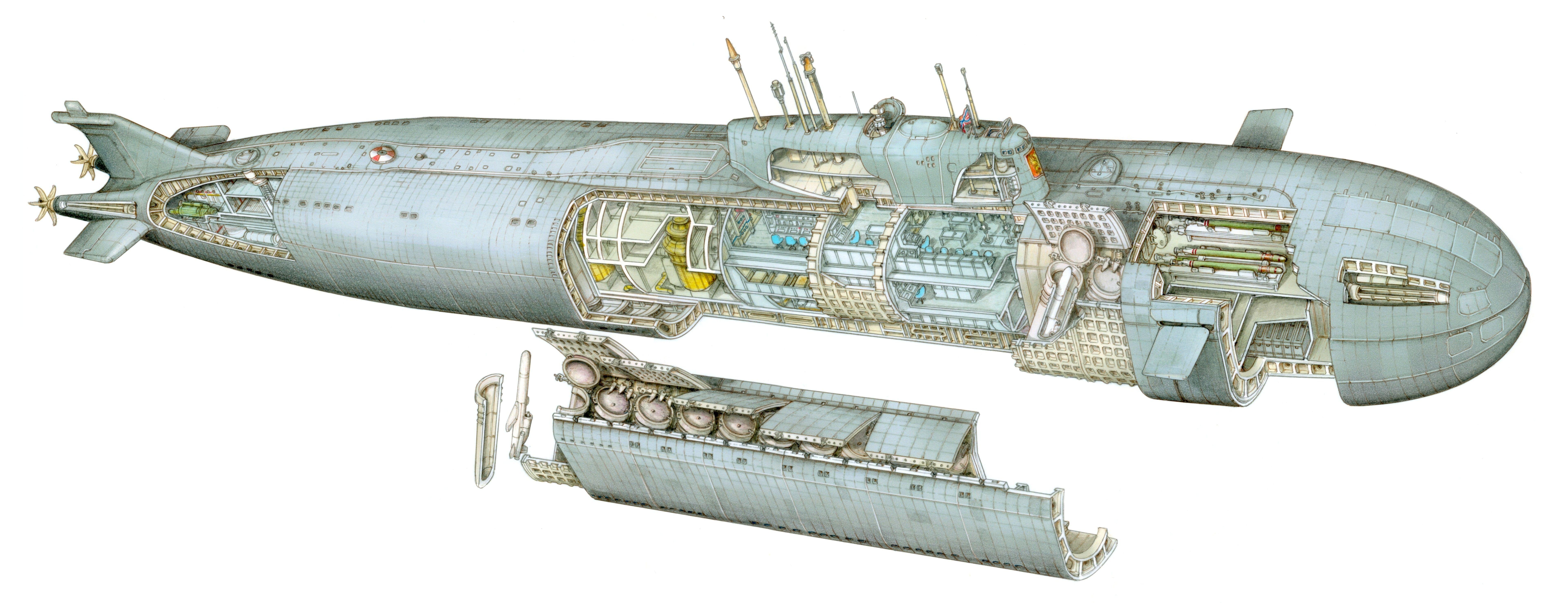 Kursk Nuclear Submarine  U2026