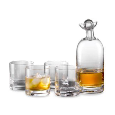 Morgan 5-Piece Whiskey Set - BedBathandBeyond.com