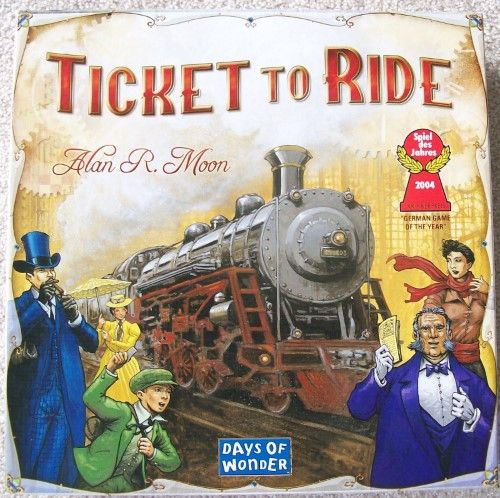 Days Of Wonder Ticket To Ride Board Game Fun Board Games Ticket