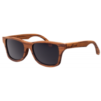 Shrine Haberdashers. How cool are these zebrawood sunglasses by Shwood Canby?