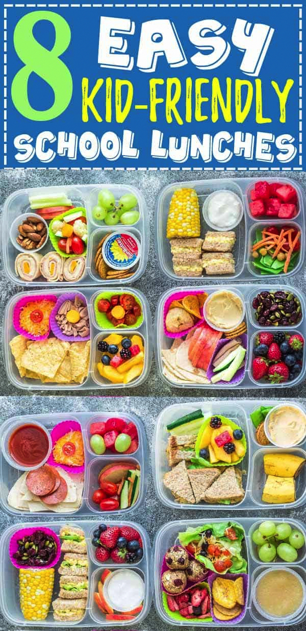 8 Easy School Lunches