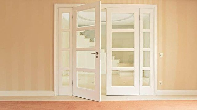 Interior French Doors Reeded Glass Google Search Double Doors