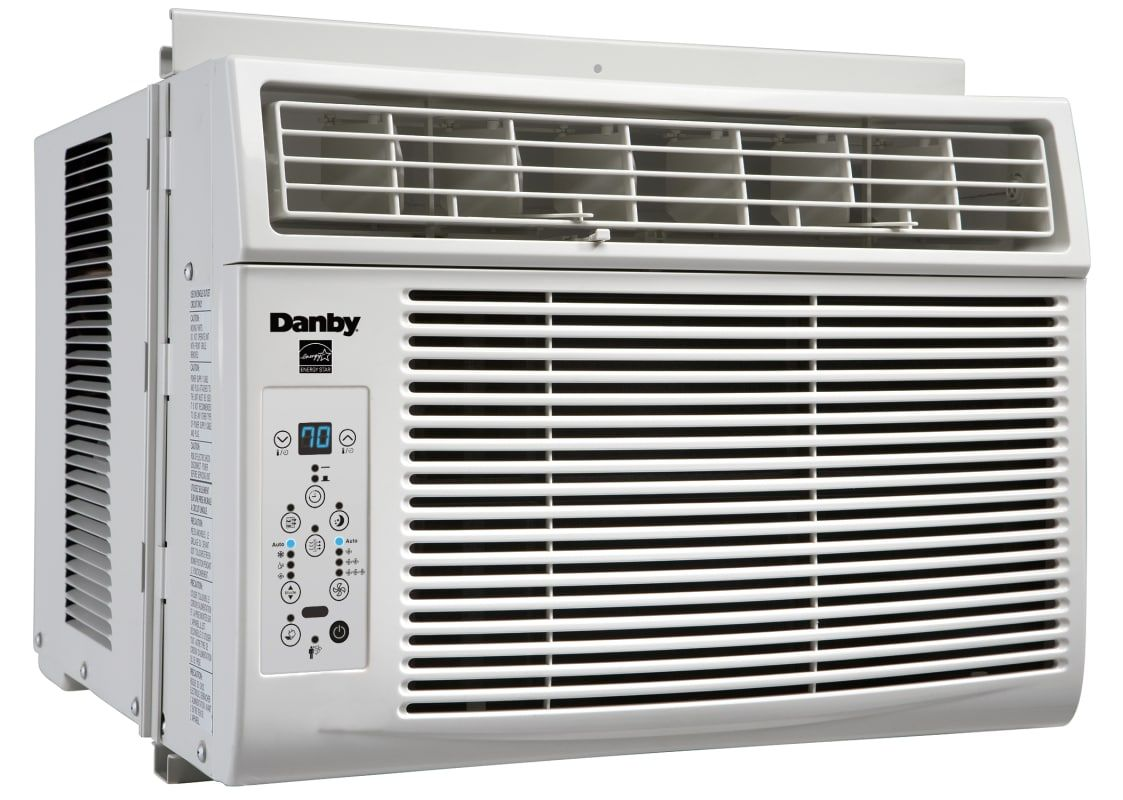 Danby Dac080bgu 8000 Btu 120 Volt Window Air Conditioner With Thermostatic Remot White Air Conditioners Air Conditioner Cool Only Window Air Conditioner