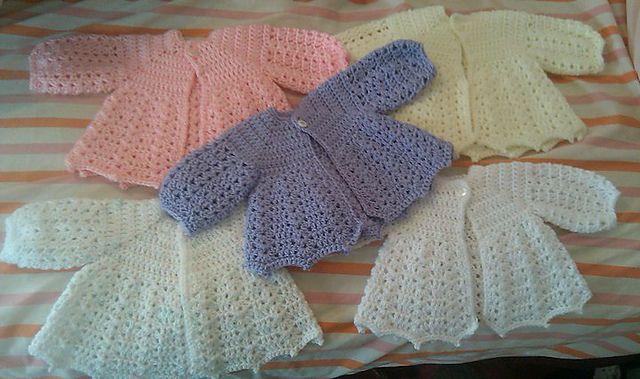 Free Crochet Baby Sweater Pattern Babies Pinterest Crochet