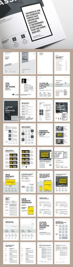 Proposal and Portfolio TemplateMinimal and Professional Proposal - microsoft proposal templates
