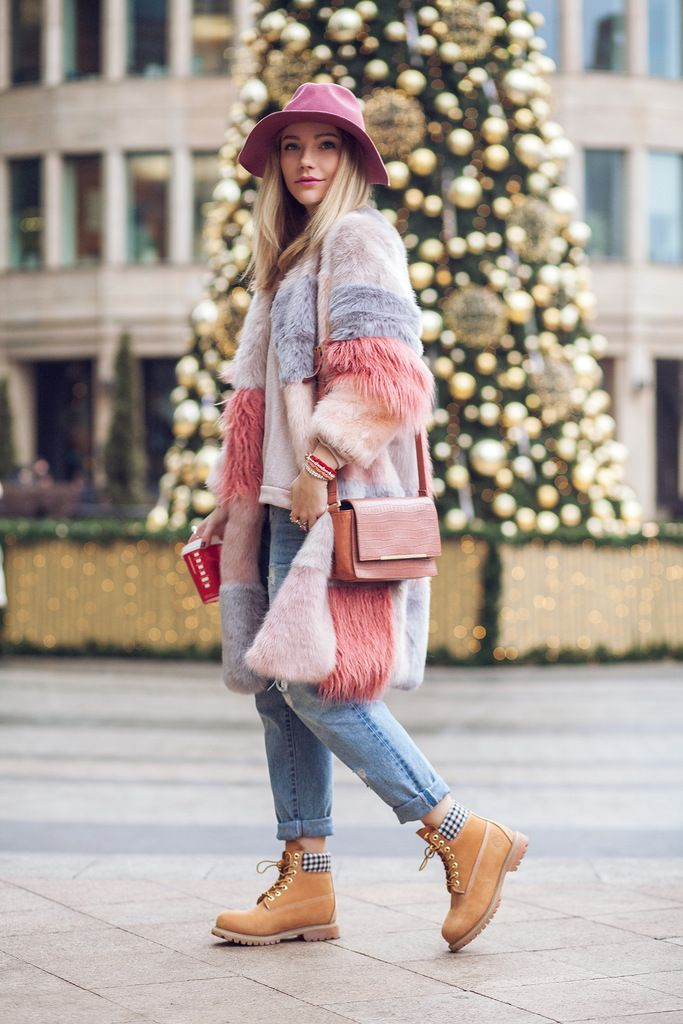 awesome Модные ботинки тимберленды женские (50 фото) — С чем носить ... 2c137a0592a