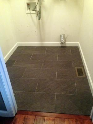Lowes Tile When Installed In A Laundry Roomlooks Great Housey
