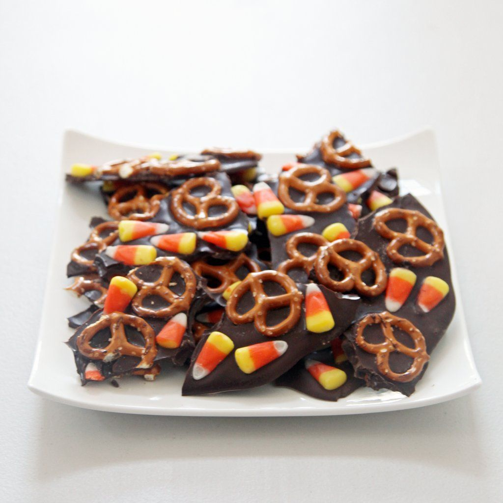 Get the recipe: black and orange bark                  Image Source: POPSUGAR Photography / Nicole Perry