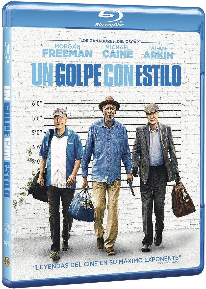 Un Golpe Con Estilo Blu Ray Con Golpe Estilo Ray Freeman Morgan Freeman Caine Michael