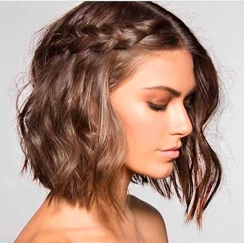 Les meilleures coiffures de mariée bricolage pour les cheveux courts. Élégant, effronté et classique.