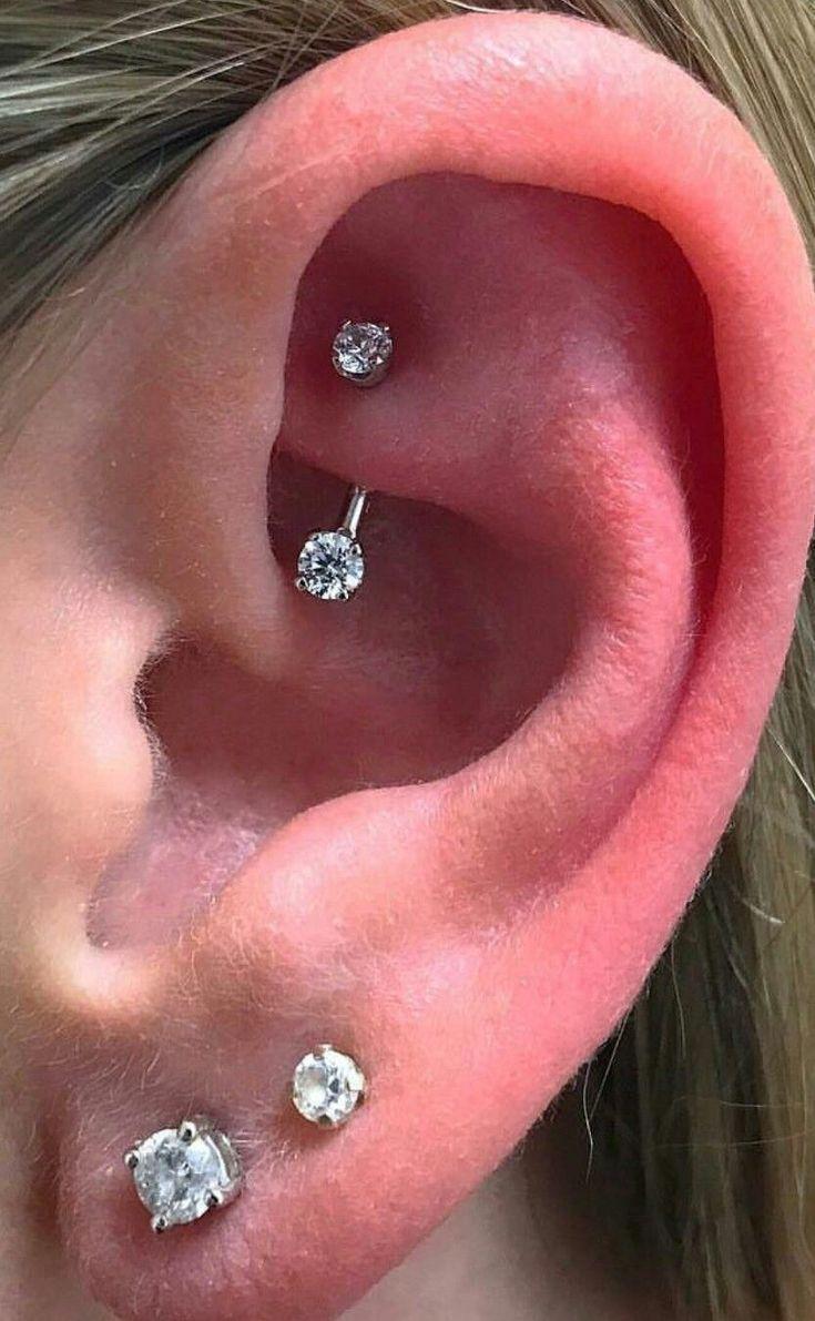 Ear Piercings With Gauges