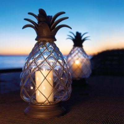 Pineapple Hurricane Lanterns <3 <3 <3