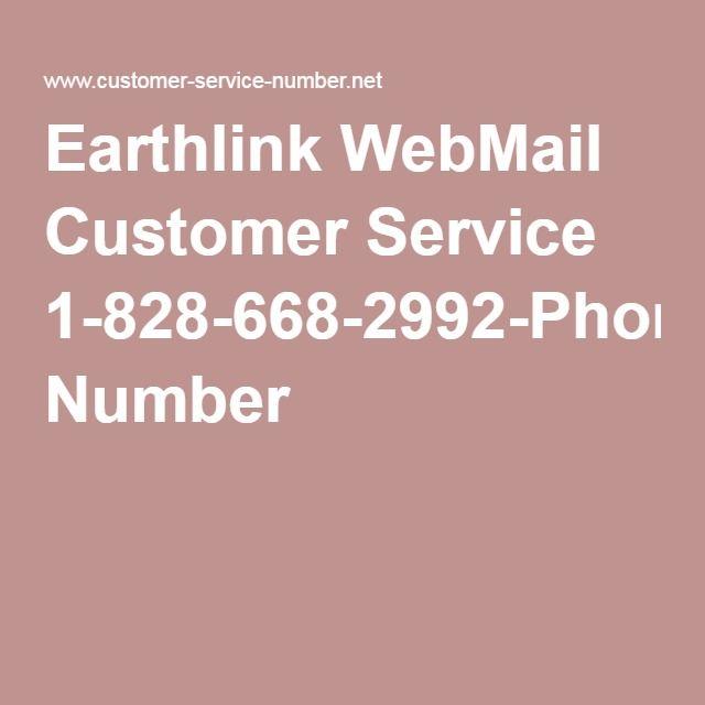 Earthlink Webmail Customer Service 1 828 668 2992 Phone Number