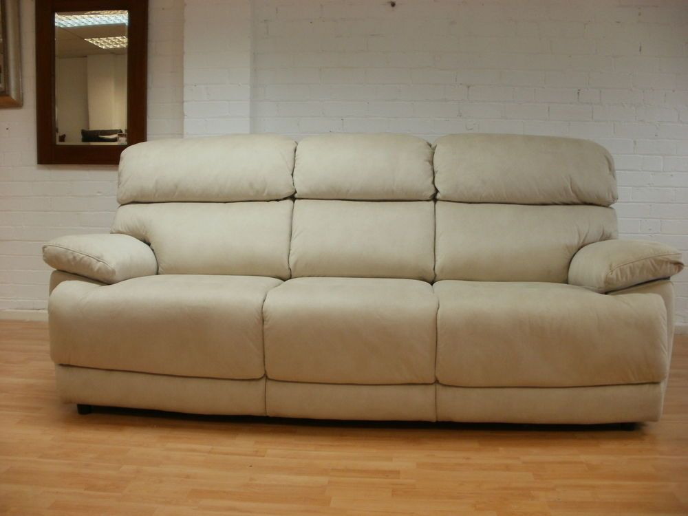 Simple Elegant CREAM FABRICK 3 seater sofa 2 seater sofa 60 £699 Elegant - New 2 Seater sofa Bed Idea