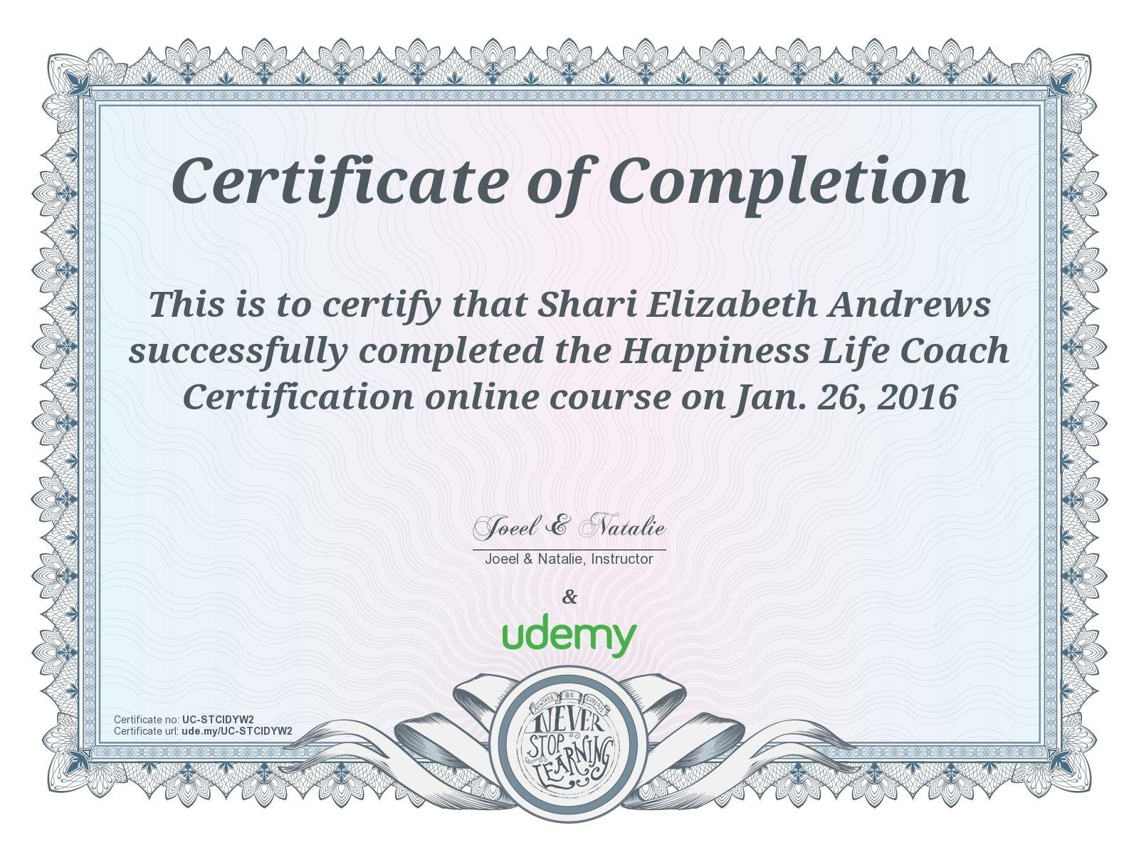 best online courses udemy certificates i ve received pinterest