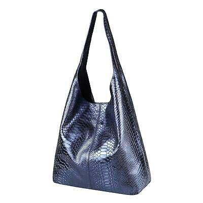 Photo of ❤️ITALYSHOP24.COM❤️ ITAL DAMEN echt LEDER HAND-TASCHE METALLIC Shopper S…