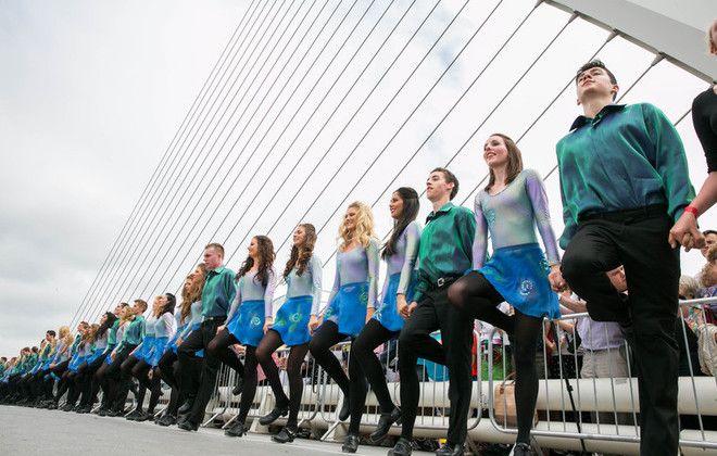 Longest Riverdance Line World Records Riverdance Guinness