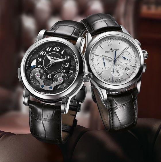 d09f734fb46 Gentlemen s Wager  Jaeger-LeCoultre Master Chronograph vs. Montblanc  Rieussec