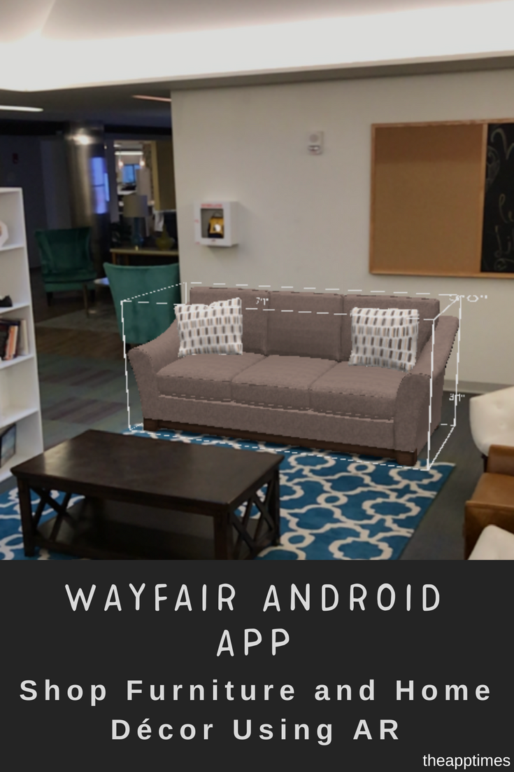 Shop Furniture and Home Décor Using AR with Wayfair
