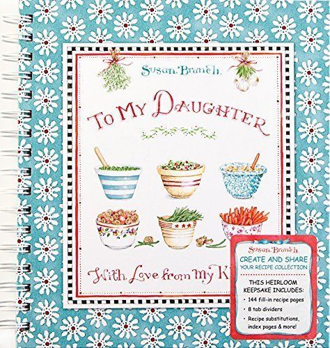 To My Daughter With Love • Susan Branch • Tabbed Recipe