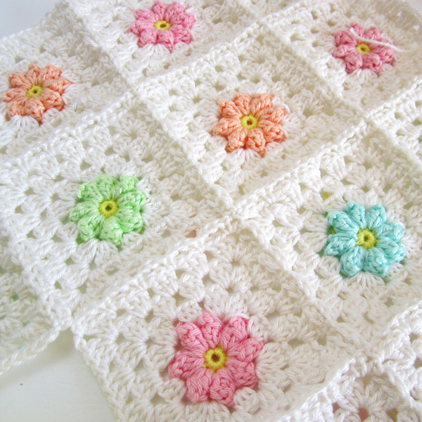 Afghan Chit Chat Site monday chit chat (color 'n cream) | crochet | tricot, couverture au