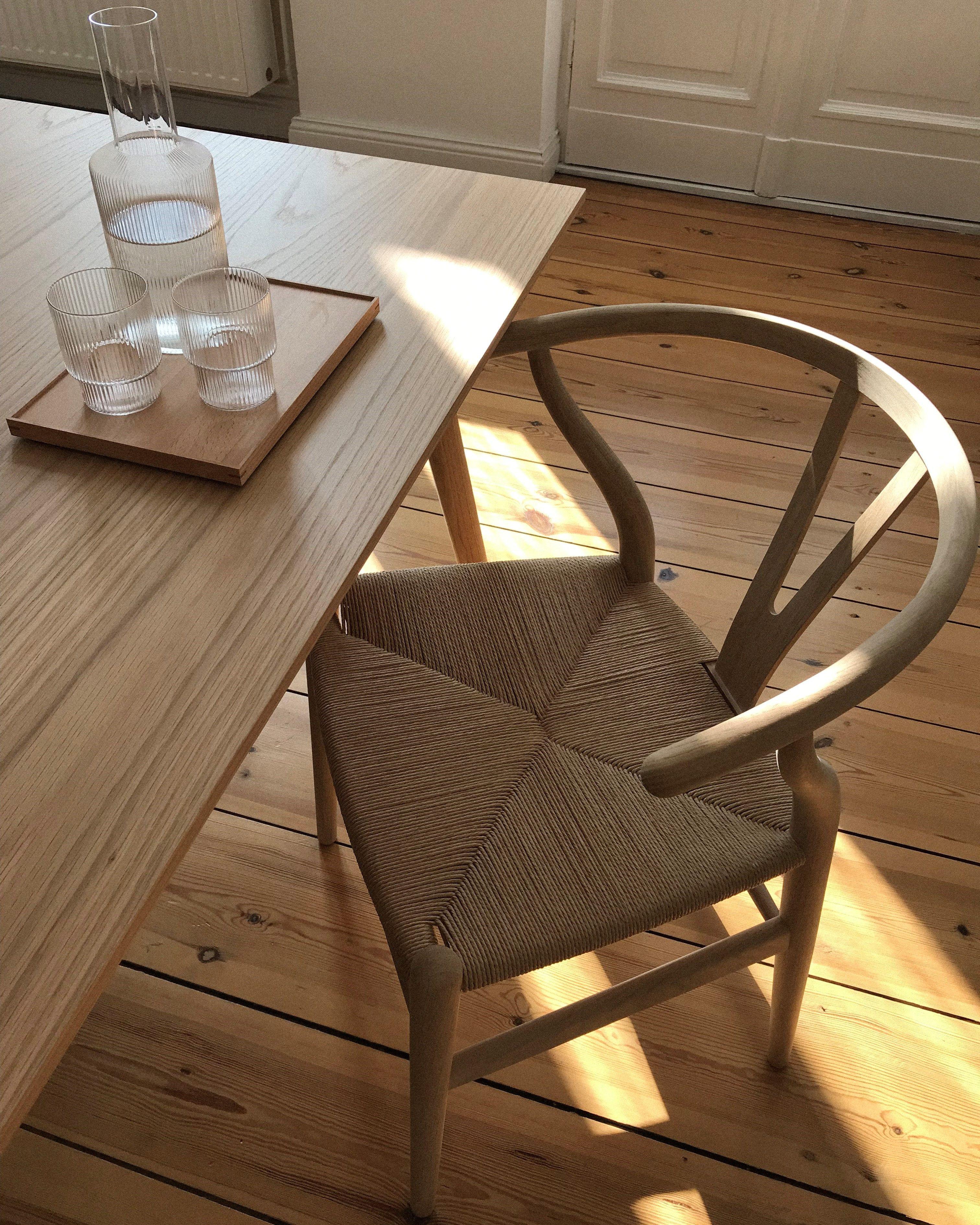 Carl Hansen Ch24 Wishbone Chair Esstisch Holz Esszimmertisch Speisezimmereinrichtung
